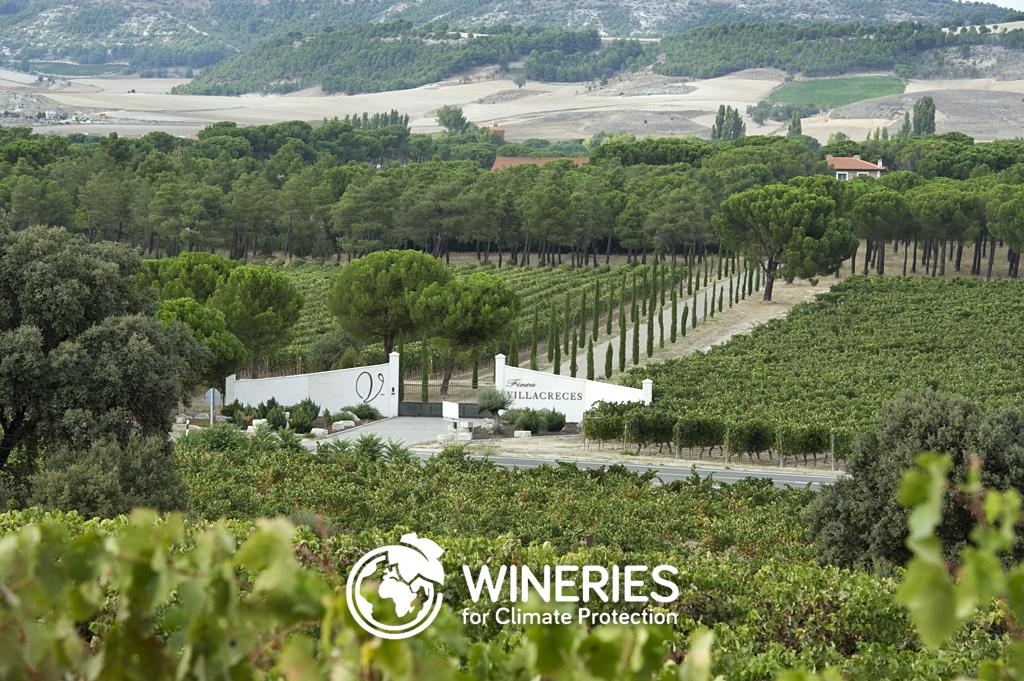 Finca Villacreces, certificada Wineries for Climate Protectios